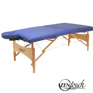 ZenTouch 27-inch Brady Portable Massage Table with Carry Case