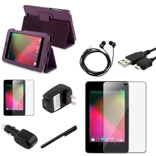 BasAcc Case/ Chargers/ Stylus/ Protector/ Headset for Google Nexus 7