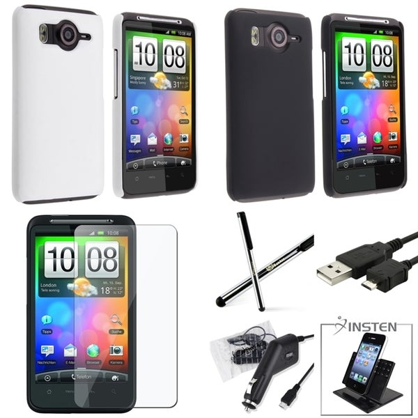 INSTEN Holder/ Case/ Charger/ Cable/ Protector for HTC Inspire 4G