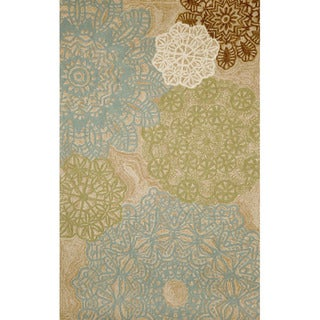 Lace Tile Outdoor Rug (5' x 7'6)