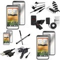 BasAcc Holster/ Charger/ Protector/ Headset for HTC EVO 4G LTE