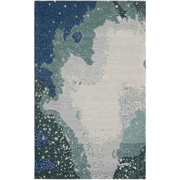 Safavieh Handmade Soho Blue New Zealand Wool Rug
