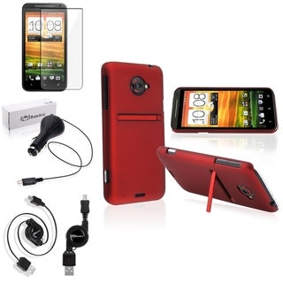 BasAcc Case/ Screen Protector/ Charger/ Cable for HTC EVO 4G LTE