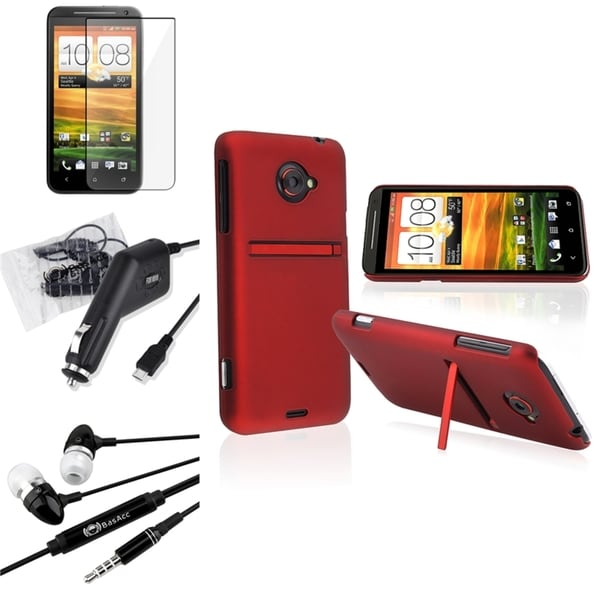 BasAcc Case/ Screen Protector/ Headset/ Charger for HTC EVO 4G LTE