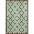 Large Clay Tile Outdoor Rug (7'6 x 9'6)