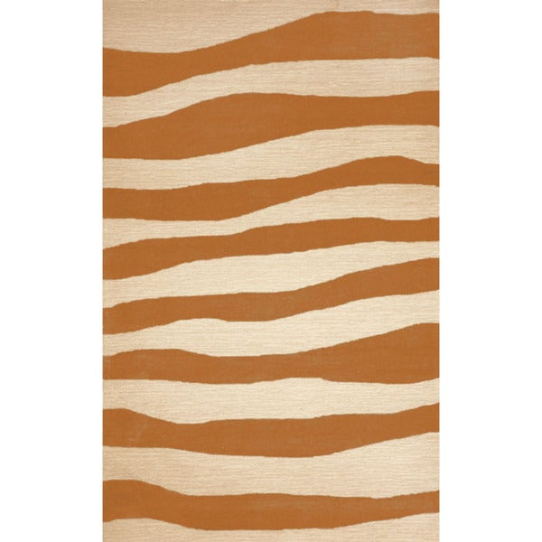 Wide Stripes Outdoor Rug (5' x 7'6)
