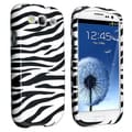 BasAcc Black/ White Zebra Case for Samsung Galaxy S III/ S3