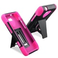BasAcc Pink/ Black Hybrid Case for Motorola Droid Razr M XT907
