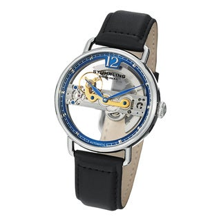 Stuhrling Original Men's Aristocrat Bridge Automatic Skeleton Watch