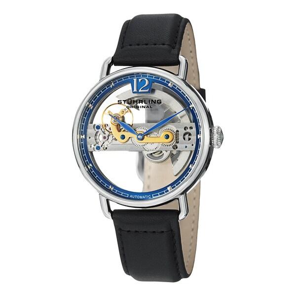 Stuhrling Original Men's Aristocrat Bridge Automatic Skeleton Watch