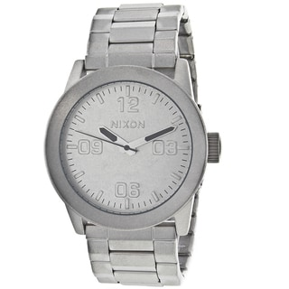 Nixon Men's Private Stainless Steel Watch