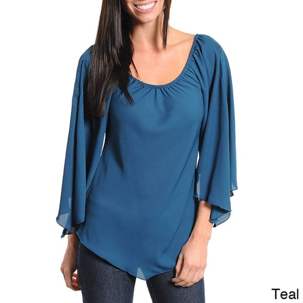 Stanzino Women's Bell Sleeve Top