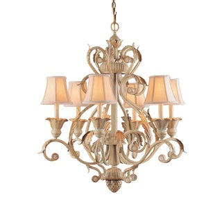 Winslow Champagne 6-light Chandelier