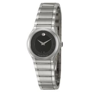Movado Women's 'Quadro' Stainless Steel Swiss Quartz Watch