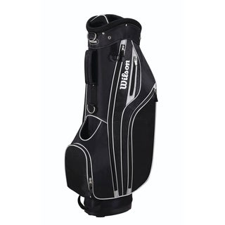 Wilson Black Lite Cart Golf Bag