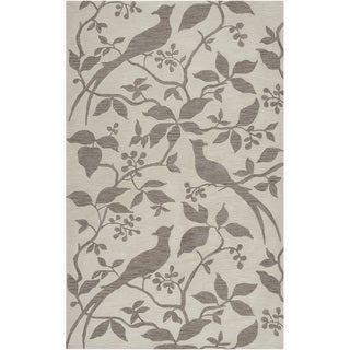 Hand-tufted Vaughan Ivory Rug (5' x 7'6)