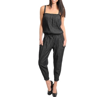 Stanzino Women's Smocked Jumpsuit