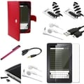 BasAcc Case/ Charger/ Cable/ Protector/ Headset for Amazon Kindle Fire