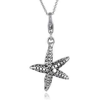 Tressa Sterling Silver Starfish Necklace