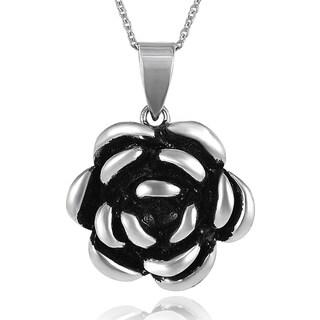 Tressa Sterling Silver Flower Necklace