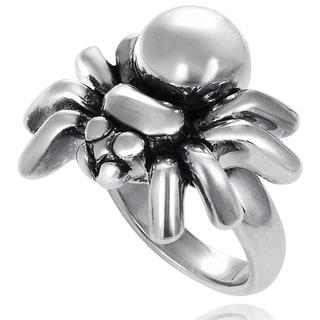 Tressa Sterling Silver Spider Ring