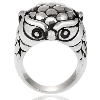 Tressa Sterling Silver Owl Ring