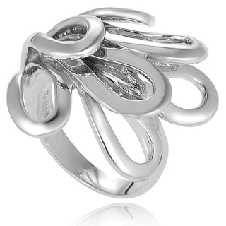 Journee Collection Sterling Silver Fashion Ring