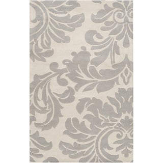 Hand-tufted Bay Leaf Modena Wool Rug (10' x 14')