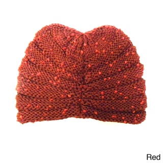 KC Signatures Women's Textured Knit Cap