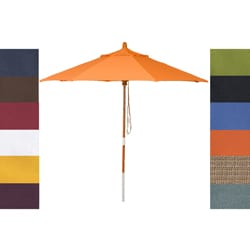 Phat Tommy 7.5-foot Marenti Wood Umbrella
