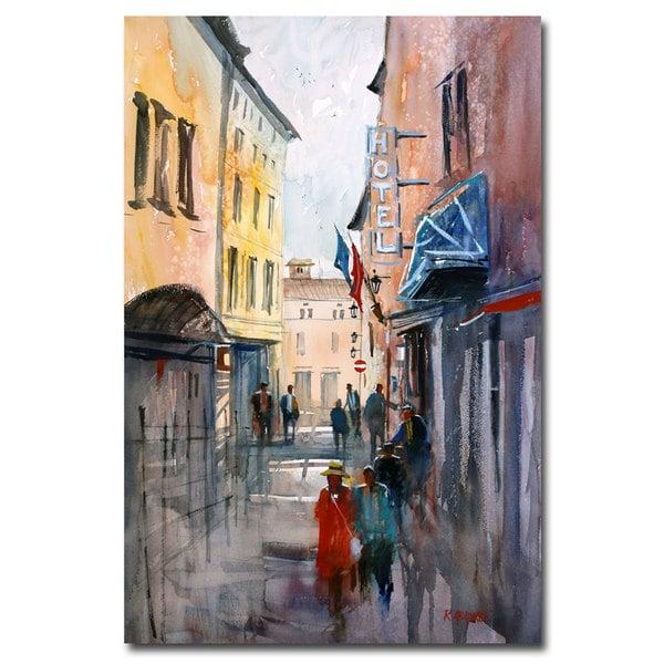 Ryan Radke 'Italian Impressions III' Canvas Art