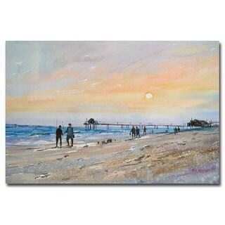 Ryan Radke 'Florida Sunset' Canvas Art