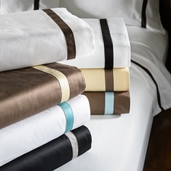 Simple Elegance Hotel Collection Cotton Sateen 300 Thread Count Pillowcase Separates (Set of 2)