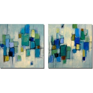 Lanie Loreth 'Bayside I and II' 2-piece Canvas Art Set