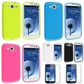 BasAcc TPU Cases/ Screen Protector for Samsung Galaxy S III/ S3