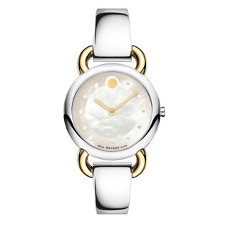 Movado Women's Linio Two-two Stainless Steel Watch