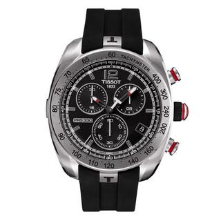 Tissot Men's PRS 330 Chronograph Black Dial Watch