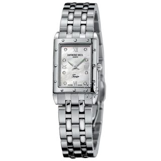 Raymond Weil Tango Women's Mother of Pearl Diamond Dial Watch