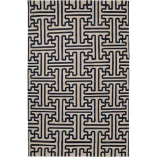 Smithsonian Handwoven Treviso3 Wool Rug (9' x 13')