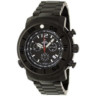 Swiss Precimax Men's Stainless Steel Deep Dive Pro Chronograph Watch