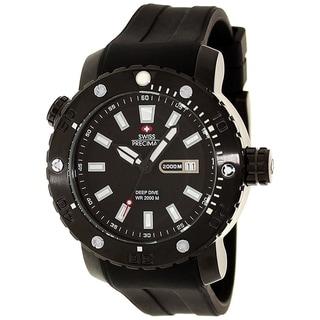 Swiss Precimax Men's Steel Master Marine Deep Dive Watch