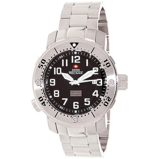 Swiss Precimax Men's Steel Poseiden Deep Dive Watch