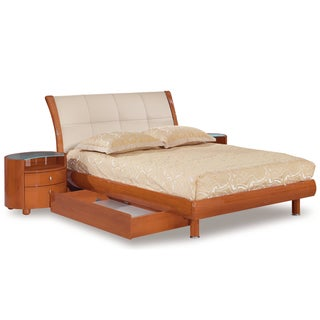 Evelyn Cherry Queen Bed