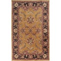 Hand-tufted Bronze Semi-Worsted Wool Rug (3'3 x 5'3)