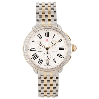 Michele Women's Two-tone Steel 'Serein' Watch