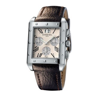 Raymond Weil Men's Steel 'Tango' Chronograph Watch