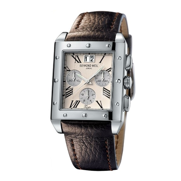 Raymond Weil Men's 4881-STC-00809 Steel 'Tango' Chronograph Watch