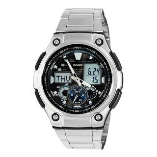 Casio Men's Stainless Steel Analog-digital Watch