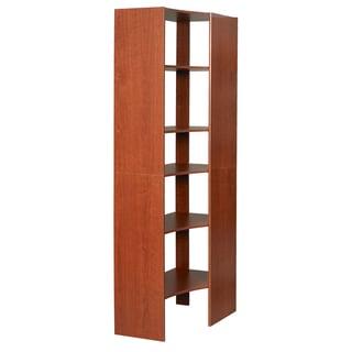 Talon Corner Cherry Closet Tower