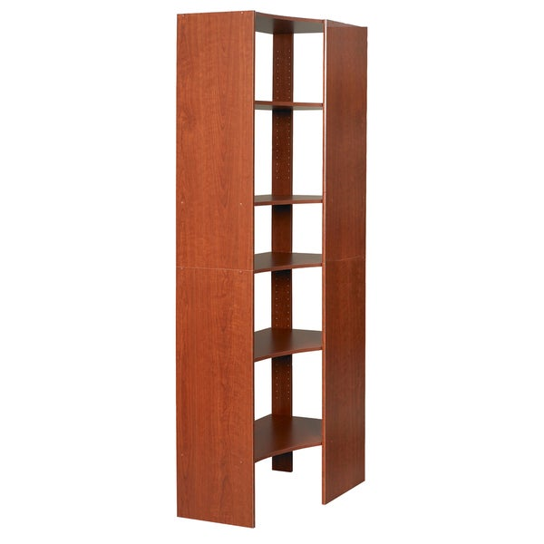 Talon Corner Cherry Closet Tower